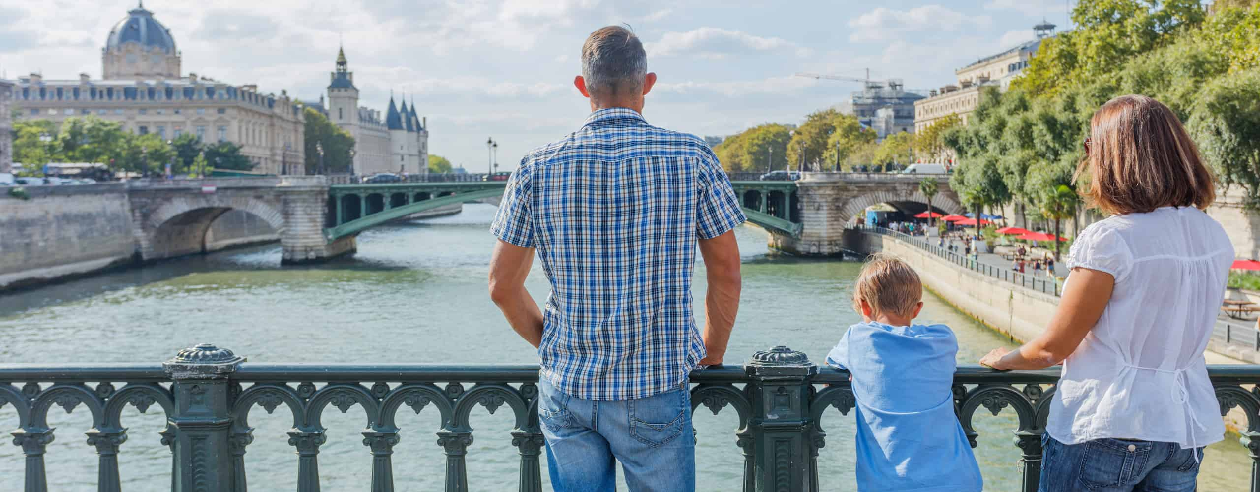 Family Vacation In Paris, France